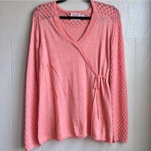 Anthropologie Rosie Neira Texture Twist Sweater